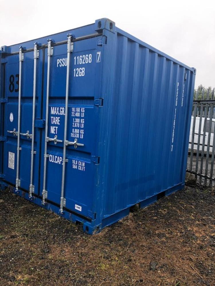 10 Feet High Security Storage Containers  -