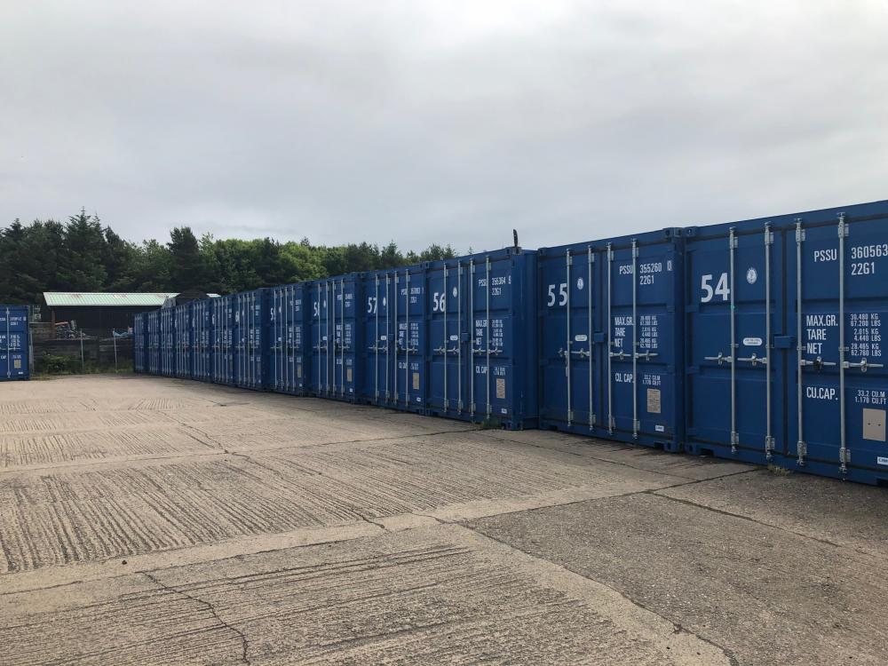 20 Feet High Security Storage Containers  Gallery Main Photo